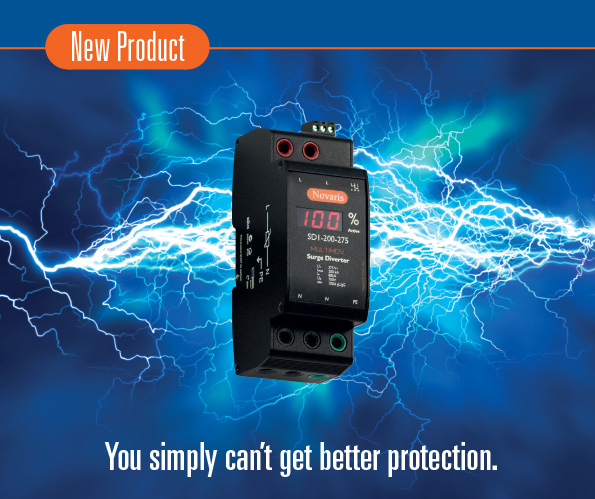 New SD Surge Diverters - You simply can't get better protection.